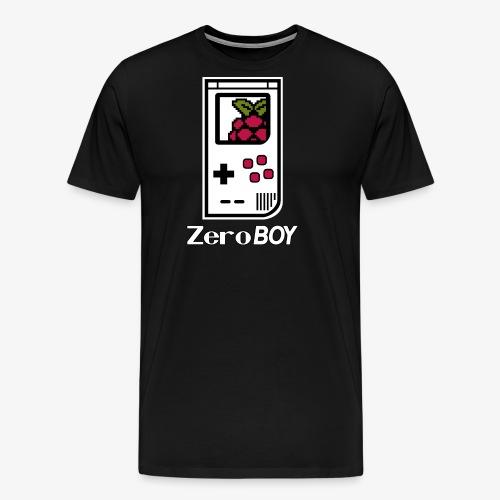 Logo mit Schriftzug - Männer Premium T-Shirt
