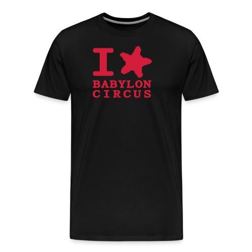 Mug I Love Babylon Circus - T-shirt Premium Homme