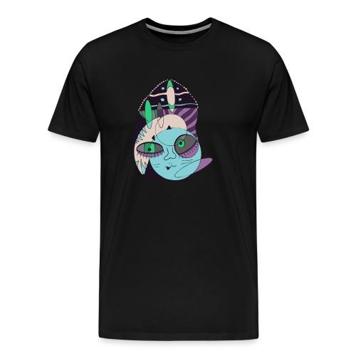 Space hipster - Camiseta premium hombre