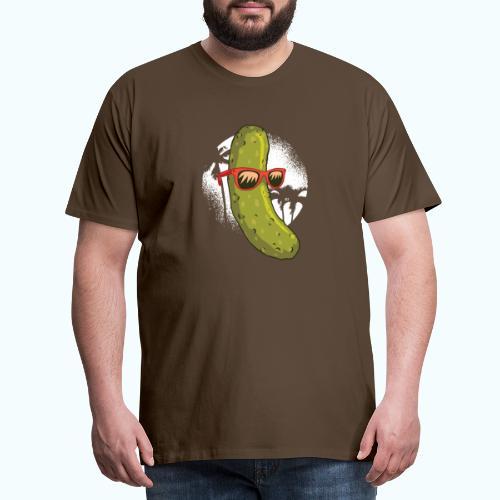Surfer cucumber - Men's Premium T-Shirt