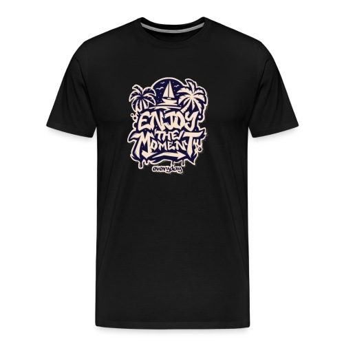 Moment Surf Tshirt - Männer Premium T-Shirt