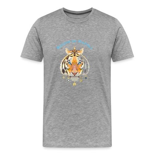 regno di napoli tigre - Maglietta Premium da uomo