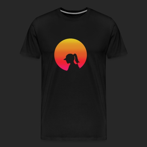 Gradient Girl - Men's Premium T-Shirt