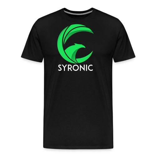 Syronic GREEN with text - Männer Premium T-Shirt