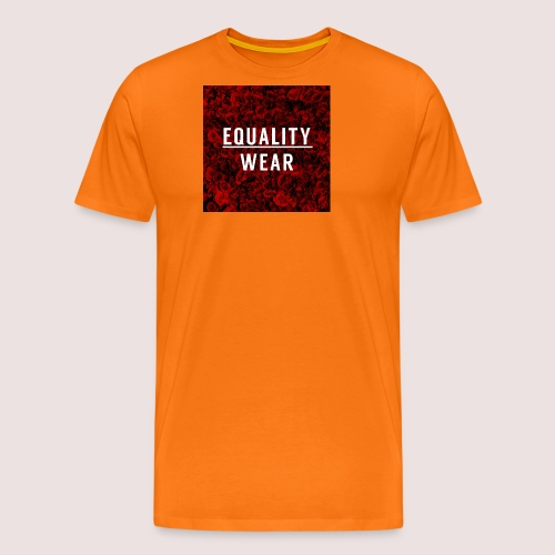 Equality Wear Rose Print Edition - Men's Premium T-Shirt
