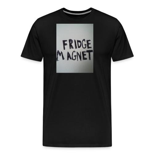 Fridge magnet - Men's Premium T-Shirt