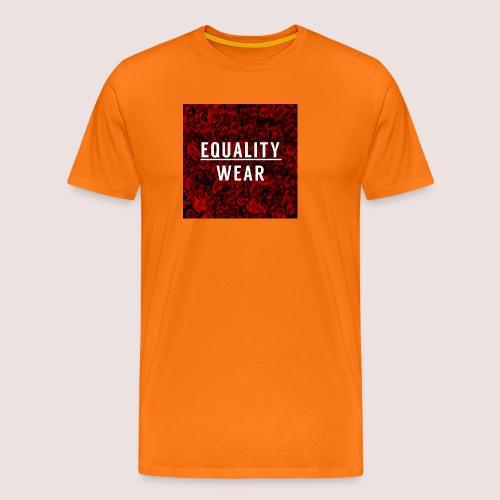 Equality Wear Rose Print Edition - Men's Premium T-Shirt