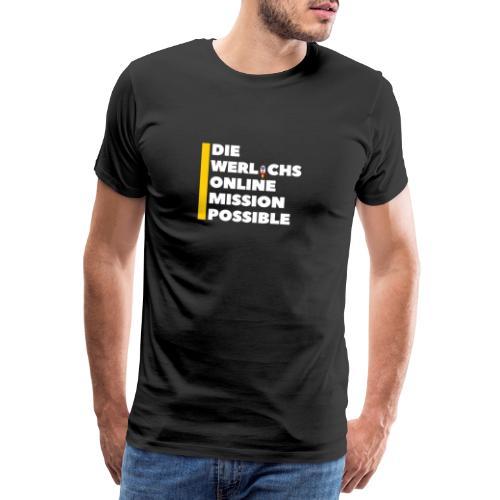 die werlichs online mission possible 1 - Männer Premium T-Shirt