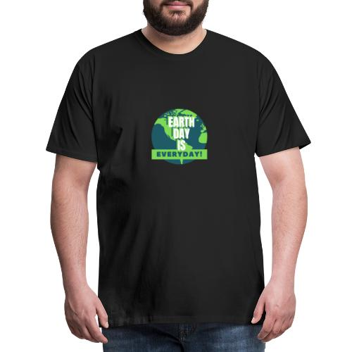 Earth Day is Everyday - Men's Premium T-Shirt