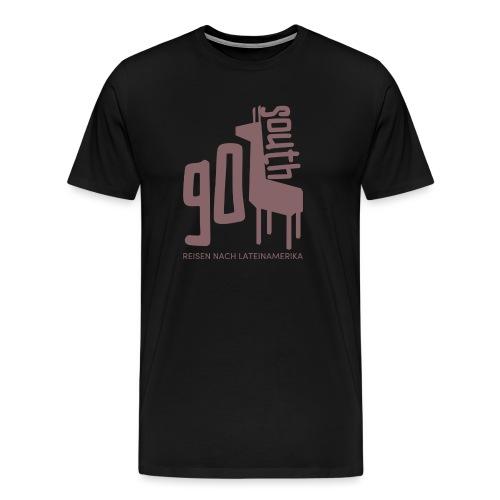 Kopie von GoSouth Logo purple 2 - Männer Premium T-Shirt