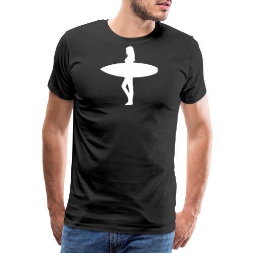Surfergirl - Männer Premium T-Shirt