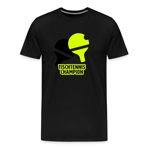 Tischtennis Champion Ping Pong - Männer Premium T-Shirt