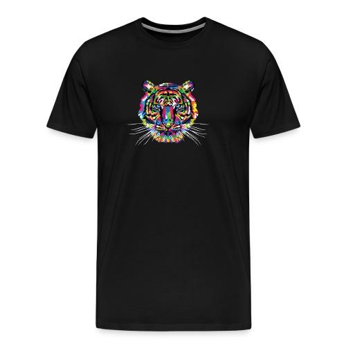 bunter Tiger - Männer Premium T-Shirt