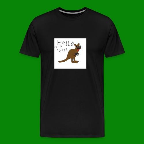 saltyfaggot hello - Premium-T-shirt herr