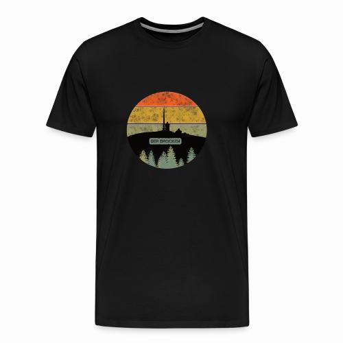 Harz - Der Brocken - Männer Premium T-Shirt