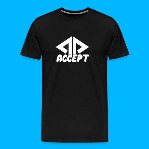 ACCEPT HOODIE DESIGN - Men's Premium T-Shirt
