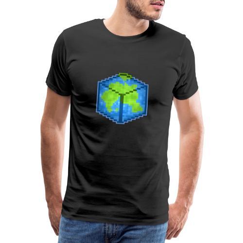 UW Logo Welt - Männer Premium T-Shirt