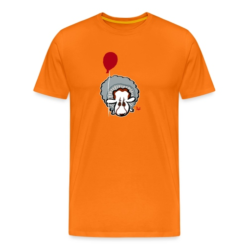 Evil Clown Sheep from IT - Men's Premium T-Shirt