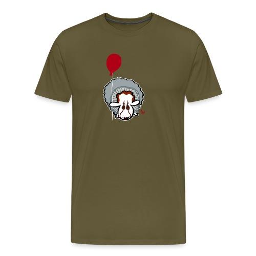 Evil Clown Sheep from IT - Men's Premium T-Shirt