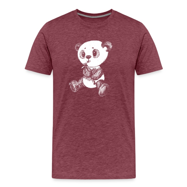 Panda Karhu valkoinen scribblesirii