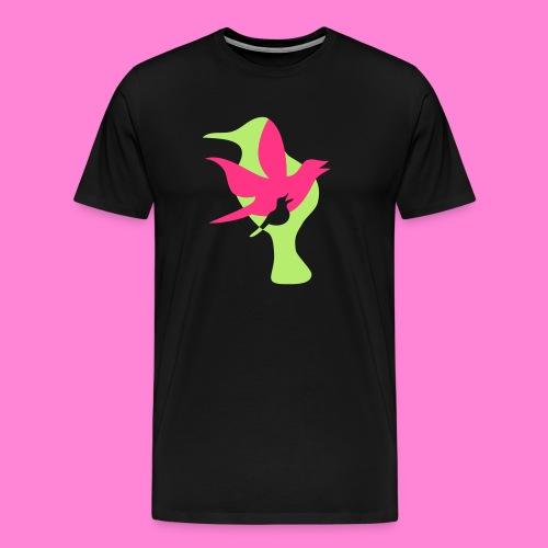 birds - Mannen Premium T-shirt