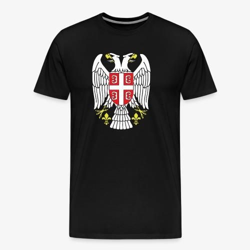 Serbien Adler - Männer Premium T-Shirt
