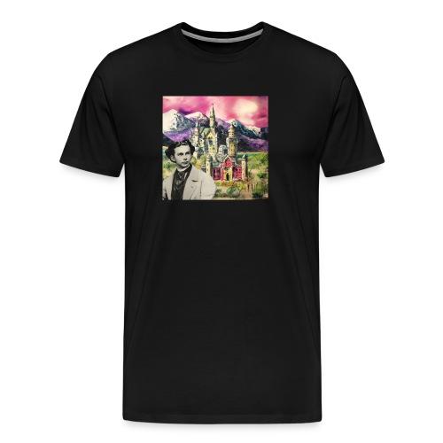 Ludwig und Neuschwanstein - Men's Premium T-Shirt