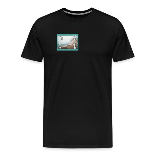 SNT Seagull - Men's Premium T-Shirt