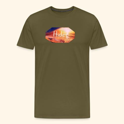 Hides Beach - Premium T-skjorte for menn