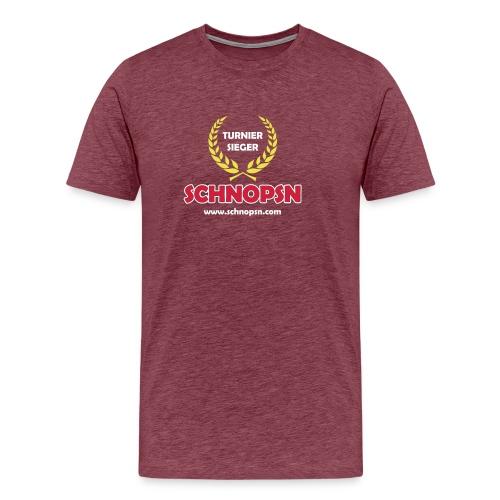 VectorLogo TurnierSieger ai - Männer Premium T-Shirt