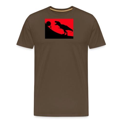 t rex red - Männer Premium T-Shirt