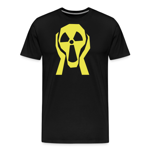 Skriet Atom - Premium-T-shirt herr