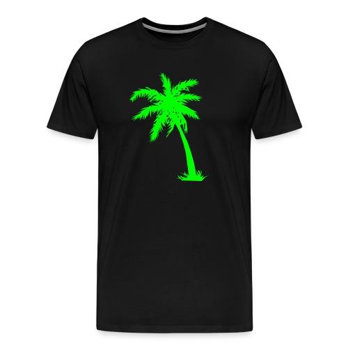 Palme Kokusnuss - Männer Premium T-Shirt