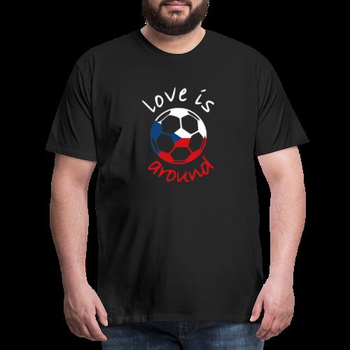 libaCZECHflag - Men's Premium T-Shirt