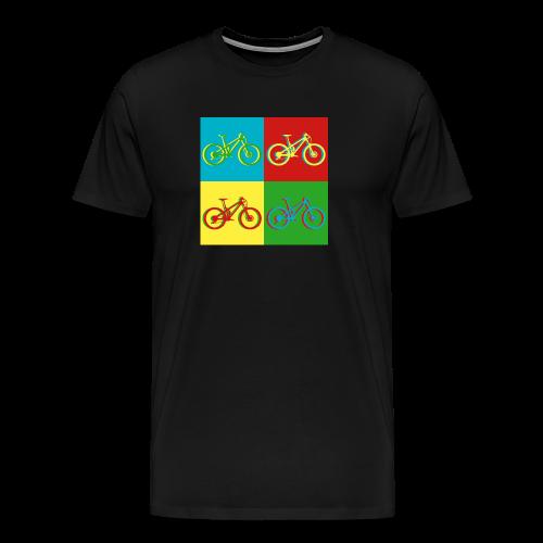 MTB Mountainbike Retro - Männer Premium T-Shirt