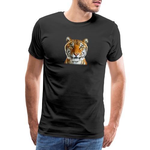 tiger wild animal - Koszulka męska Premium