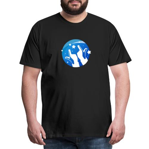 Gleam Hands loho - Men's Premium T-Shirt