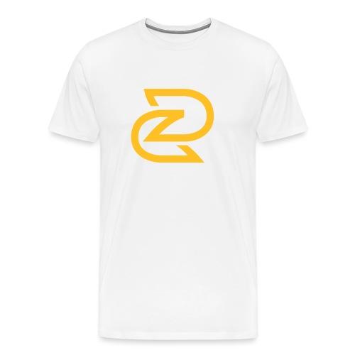 BEELDMERK ZWART - Mannen Premium T-shirt