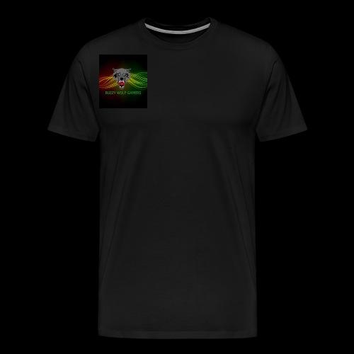 BuzzyWolfGamers - Men's Premium T-Shirt