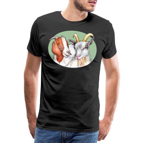 Bæ - Premium T-skjorte for menn