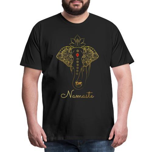 RUBINAWORLD - Namaste - Men's Premium T-Shirt