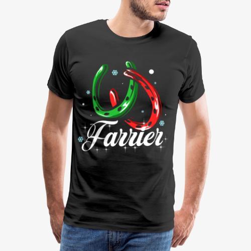 Farrier Christmas gift - Men's Premium T-Shirt