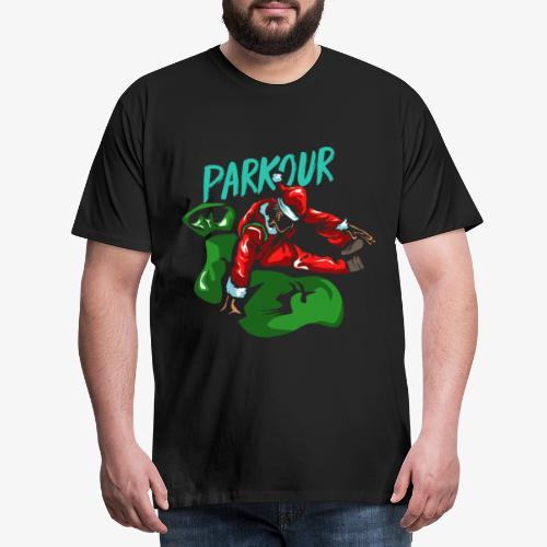 Parkour Christmas gift - Men's Premium T-Shirt