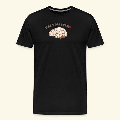 Intelligence, bright, smart mind, it matters - Men's Premium T-Shirt