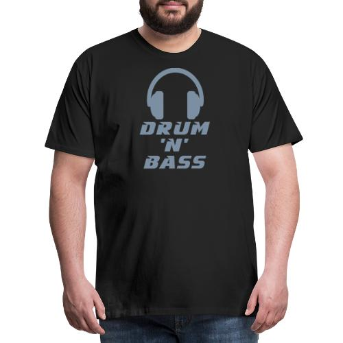 Drum 'n' Bass Music - Männer Premium T-Shirt