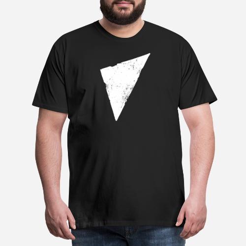 Dreieck   Polygon   Triangle - Männer Premium T-Shirt