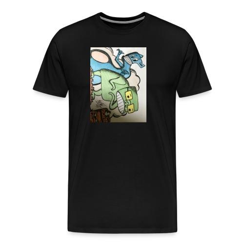 mostous - Maglietta Premium da uomo
