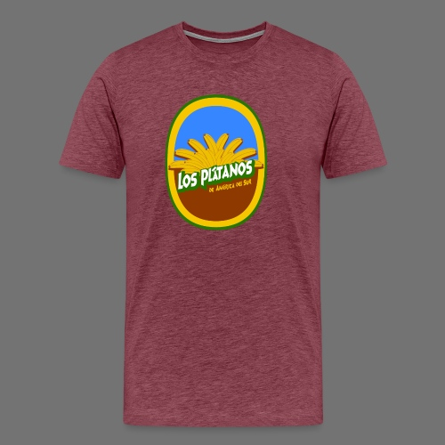 Los Platanos - Miesten premium t-paita