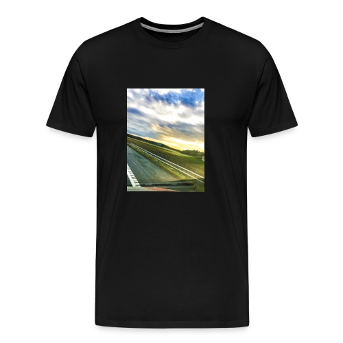Sunset - Premium T-skjorte for menn