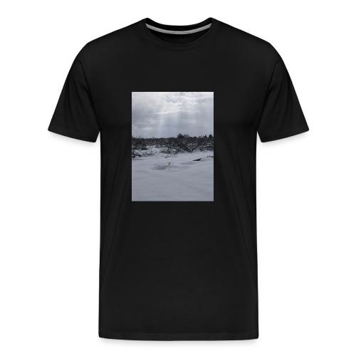 snow for days - Men's Premium T-Shirt